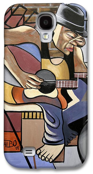 Singing Galaxy S4 Cases - Singing The Blues Galaxy S4 Case by Anthony Falbo