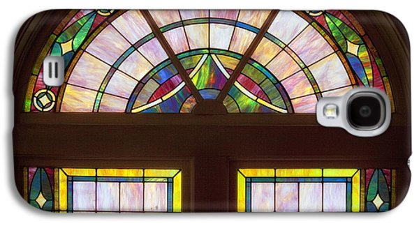 Light Glass Art Galaxy S4 Cases - Sixteenth Street Baptist Church Stained Glass - Birmingham Alabama Galaxy S4 Case by Mountain Dreams