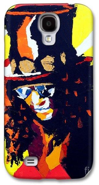 Slash Paintings Galaxy S4 Cases - Slash Galaxy S4 Case by Edgar Rafael