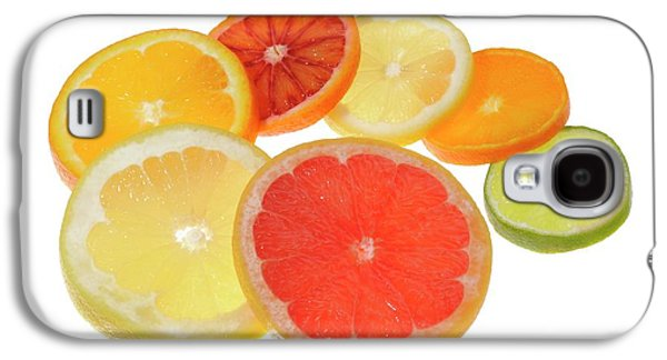 Slices Of Citrus Fruit Galaxy S4 Case by Cordelia Molloy