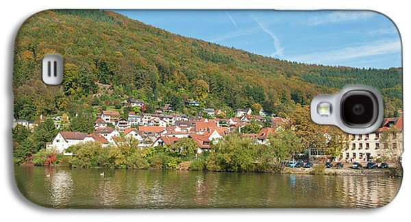 Small Town On The Neckar River, Germany Galaxy S4 Case by Michael Defreitas
