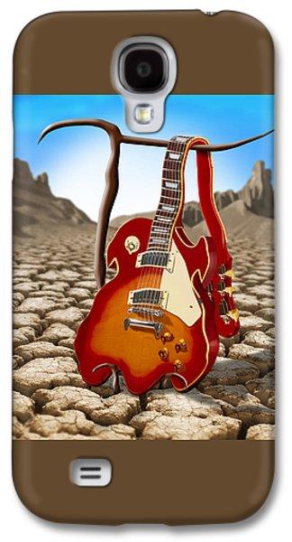 Soft Guitar II Galaxy S4 Case by Mike McGlothlen