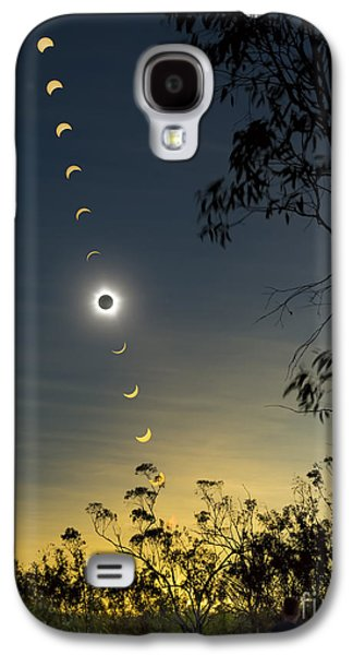 Observer Photographs Galaxy S4 Cases - Solar Eclipse Composite, Queensland Galaxy S4 Case by Philip Hart