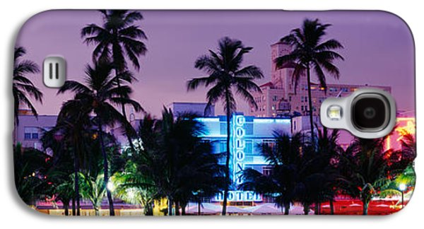 South Beach, Miami Beach, Florida, Usa Galaxy S4 Case by Panoramic Images