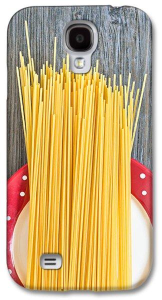 Spaghetti Galaxy S4 Cases - Spaghetti  Galaxy S4 Case by Tom Gowanlock