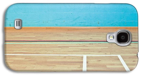 Tennis Photographs Galaxy S4 Cases - Sports hall Galaxy S4 Case by Tom Gowanlock