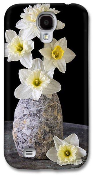 Brightly Galaxy S4 Cases - Spring Daffodils Galaxy S4 Case by Edward Fielding