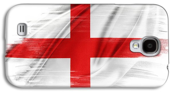 St George Galaxy S4 Cases - St Georges Cross Galaxy S4 Case by Les Cunliffe