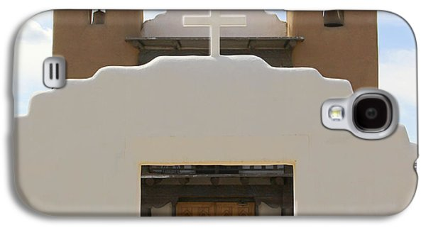 Taos Galaxy S4 Cases - St. Jerome Chapel - Taos Pueblo Galaxy S4 Case by Mike McGlothlen