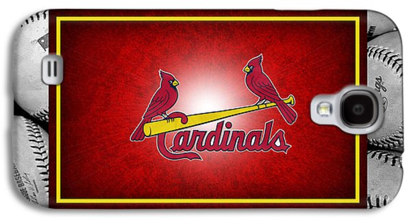 St Louis Cardinals Galaxy S4 Case by Joe Hamilton