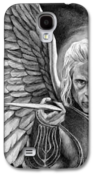 Etc. Drawings Galaxy S4 Cases - St. Michael Archangel Galaxy S4 Case by Matteo TOTARO