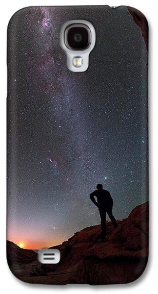 Stargazing In The Atacama Desert Galaxy S4 Case by Babak Tafreshi