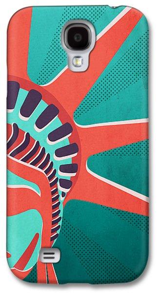 Statue Of Liberty  Galaxy S4 Case by Mark Ashkenazi