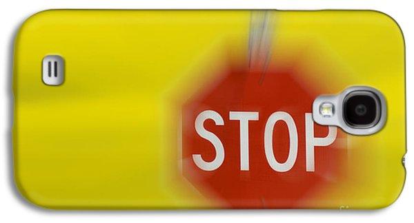 Stop Sign Galaxy S4 Cases - Stop Sign Galaxy S4 Case by John Shaw