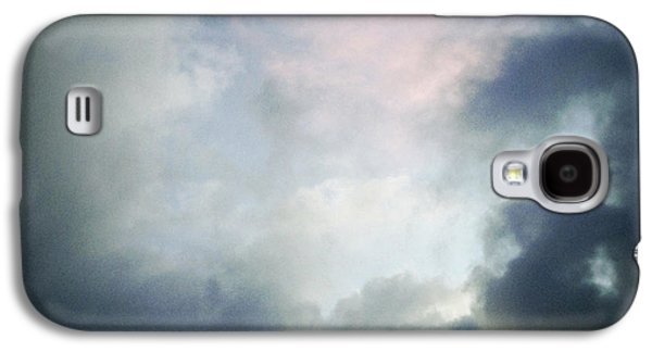 Grey Clouds Photographs Galaxy S4 Cases - Storm clouds Galaxy S4 Case by Les Cunliffe