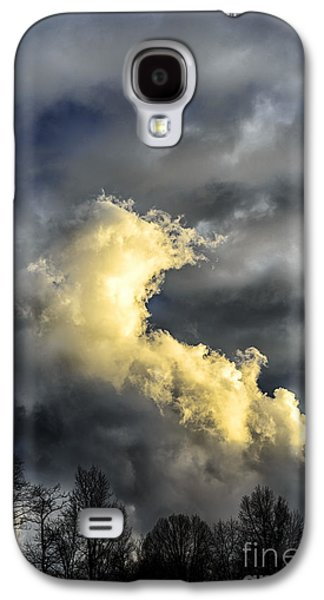 Colorful Cloud Formations Galaxy S4 Cases - Stormy Sky Galaxy S4 Case by Thomas R Fletcher