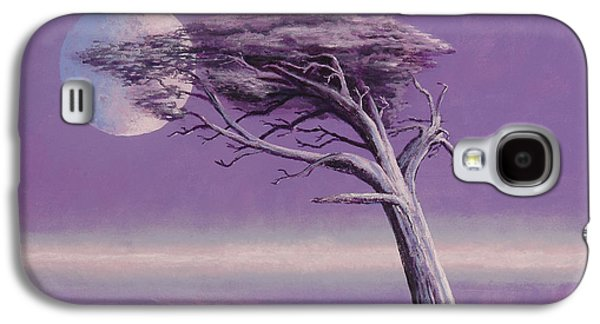 Fantasy Tree Paintings Galaxy S4 Cases - Struggle Galaxy S4 Case by Jerry McElroy