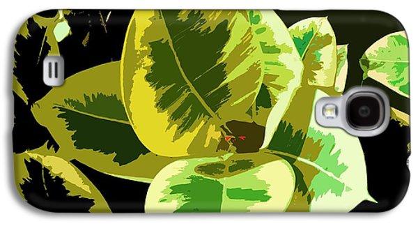 Alga Paintings Galaxy S4 Cases - Sunlight Galaxy S4 Case by Julio R Lopez Jr