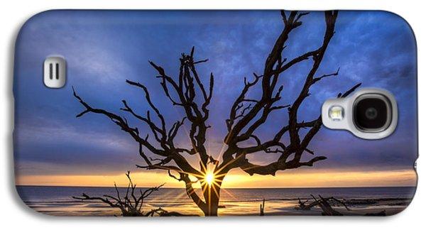 Sunrise Jewel Galaxy S4 Case by Debra and Dave Vanderlaan