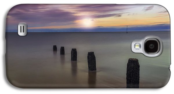 Seacape Galaxy S4 Cases - Sunset Beach Galaxy S4 Case by Ian Mitchell