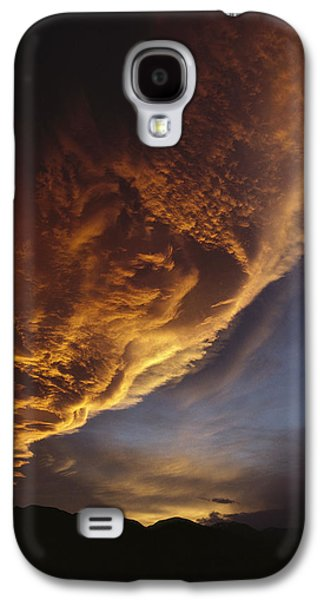 Sunset On Storm Clouds Near Mt Cook Galaxy S4 Case by Ian Whitehouse
