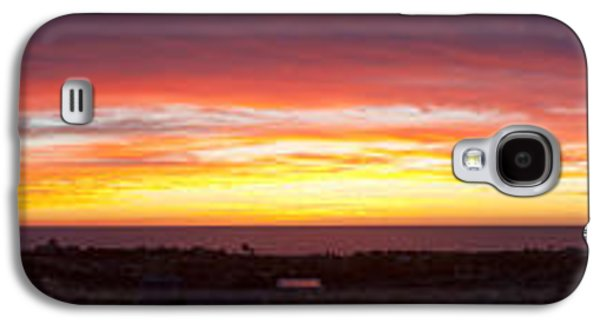 Sun Galaxy S4 Cases - Sunset Over The Pacific Ocean, Todos Galaxy S4 Case by Panoramic Images