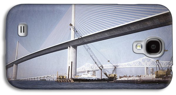 Sunshine Skyway Bridge Galaxy S4 Cases - Sunshine Skyway Bridge II Galaxy S4 Case by Richard Rizzo