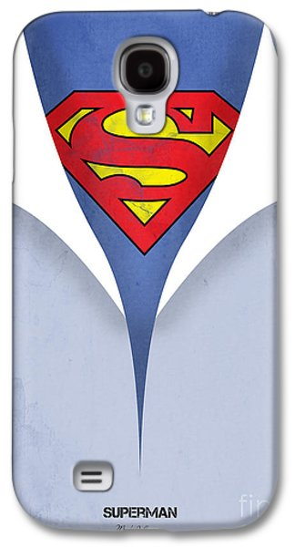Animation Galaxy S4 Cases - Superman 9 Galaxy S4 Case by Mark Ashkenazi