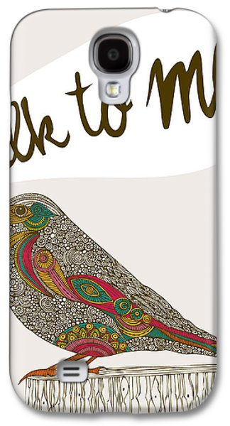 Illustration Photographs Galaxy S4 Cases - Talk To Me Galaxy S4 Case by Valentina Ramos