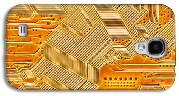 Component Galaxy S4 Cases - Technology Abstract Background Galaxy S4 Case by Michal Boubin