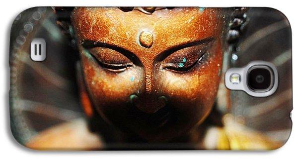 Original Photographs Galaxy S4 Cases - Thai Buddha Galaxy S4 Case by Samantha Harding