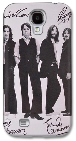 Autographed Art Galaxy S4 Cases - The Beatles Galaxy S4 Case by Donna Wilson