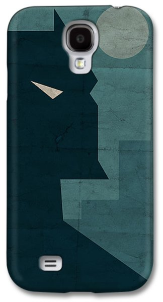 Cityscape Digital Galaxy S4 Cases - The Dark Knight Galaxy S4 Case by Michael Myers