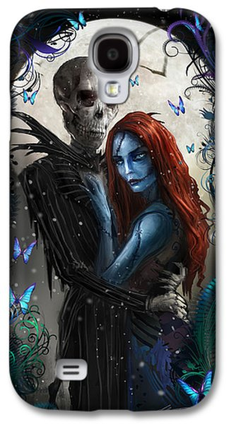 Digital Galaxy S4 Cases - The Embrace V2 Galaxy S4 Case by Alex Ruiz