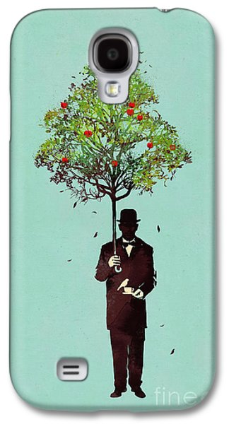 Umbrella Digital Galaxy S4 Cases - The ethical gentleman Galaxy S4 Case by Budi Kwan
