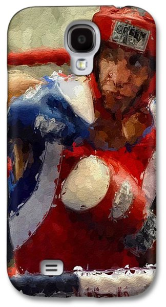 Boxer Galaxy S4 Cases - The Fighter Galaxy S4 Case by Stefan Kuhn