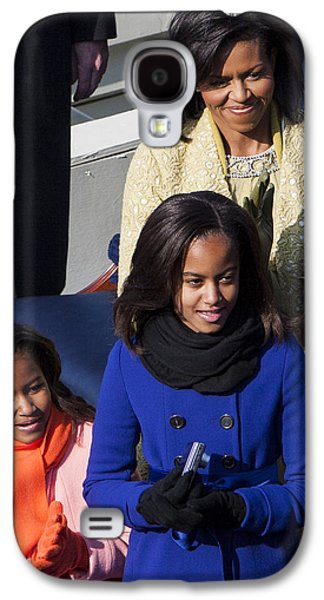 Michelle Obama Galaxy S4 Cases - The First Family Galaxy S4 Case by JP Tripp