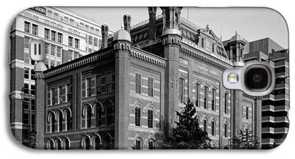 Historic Downtown Franklin Galaxy S4 Cases - The Franklin School - Washington DC Galaxy S4 Case by Mountain Dreams