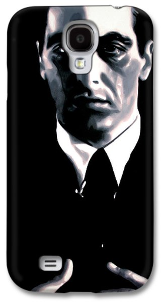 Big Screen Galaxy S4 Cases - The Godfather Galaxy S4 Case by Luis Ludzska