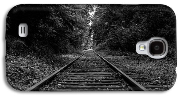 Ground Level Galaxy S4 Cases - The Iron Trail Galaxy S4 Case by Mountain Dreams