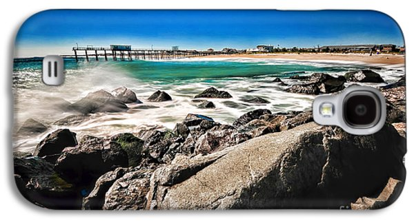 Beach Landscape Galaxy S4 Cases - The Jersey Shore Galaxy S4 Case by Paul Ward