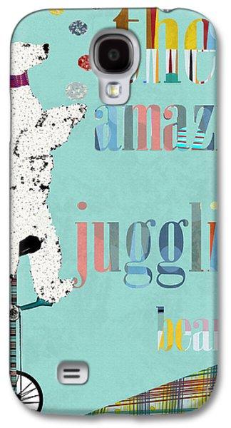 Juggling Galaxy S4 Cases - The Juggler  Galaxy S4 Case by Bri Buckley