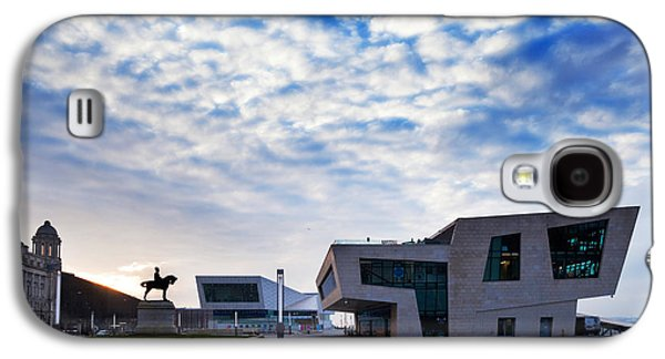 Terminal Photographs Galaxy S4 Cases - The New Pier Head Ferry Terminal Galaxy S4 Case by Panoramic Images