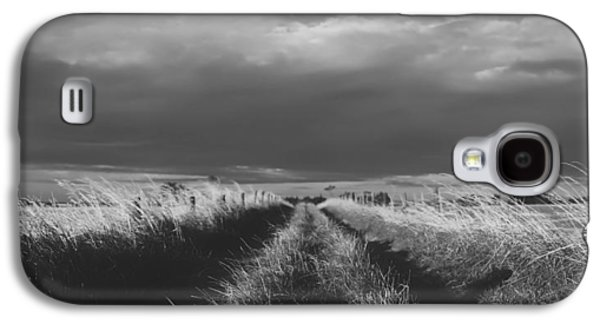 Ground Level Galaxy S4 Cases - The Old Country Lane Galaxy S4 Case by Mountain Dreams