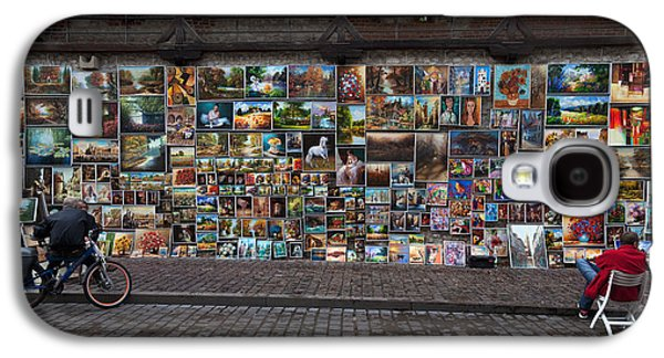Enterprise Galaxy S4 Cases - The Open Air Art Gallery Galaxy S4 Case by Panoramic Images