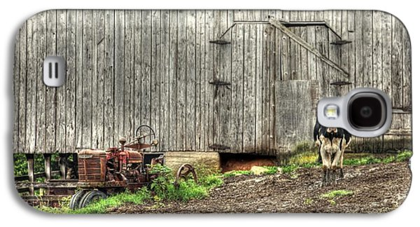 Barn Yard Galaxy S4 Cases - The Poser Galaxy S4 Case by Benanne Stiens