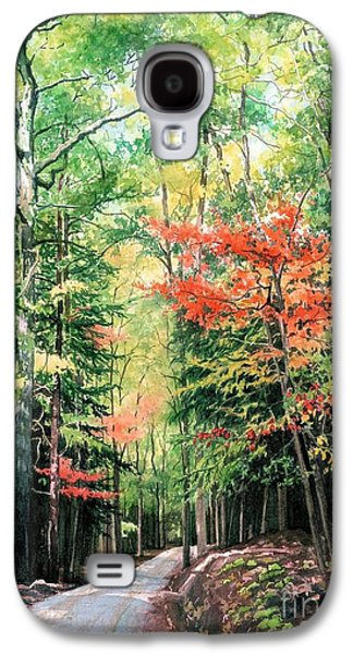Change Paintings Galaxy S4 Cases - The Promise of Change Galaxy S4 Case by Barbara Jewell