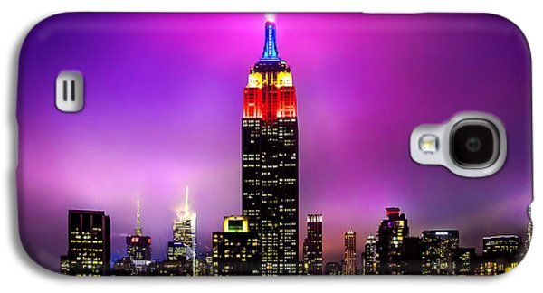Midtown Galaxy S4 Cases - The Red Empire Galaxy S4 Case by Az Jackson