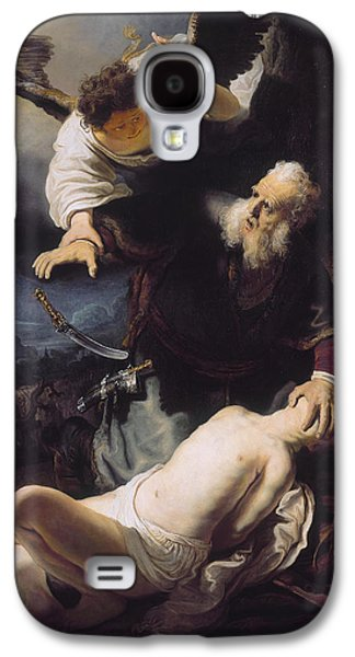 1636 Paintings Galaxy S4 Cases - The sacrifice of Abraham Galaxy S4 Case by Celestial Images