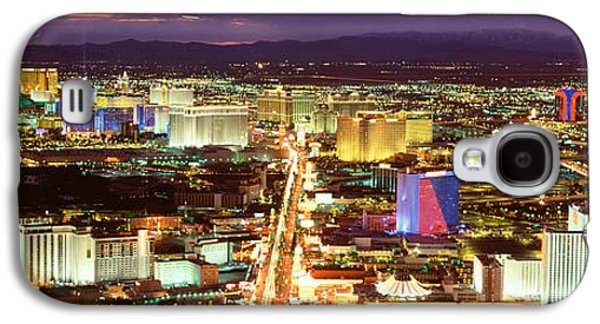 The Strip Galaxy S4 Cases - The Strip, Las Vegas Nevada, Usa Galaxy S4 Case by Panoramic Images